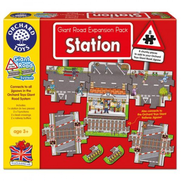 Orchard Toys Station - Giant Road Expansion Pack