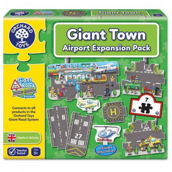 Orchard Toys Airport - Giant Road Expansion Pack