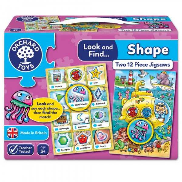 Orchard Toys Look and Find... Shape Jigsaw
