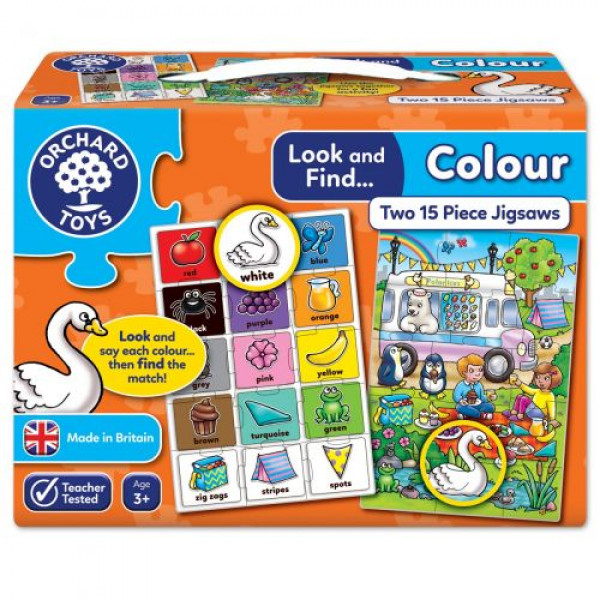 Orchard Toys Look and Find... Colour Jigsaw