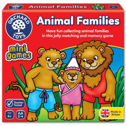 Orchard Toys Animal Families Mini Game