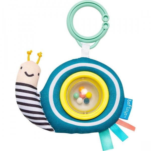 Taf Toys Κουδουνίστρα Λούτρινο Σαλιγκάρι Scotty the Nail Ball Rattle 12415