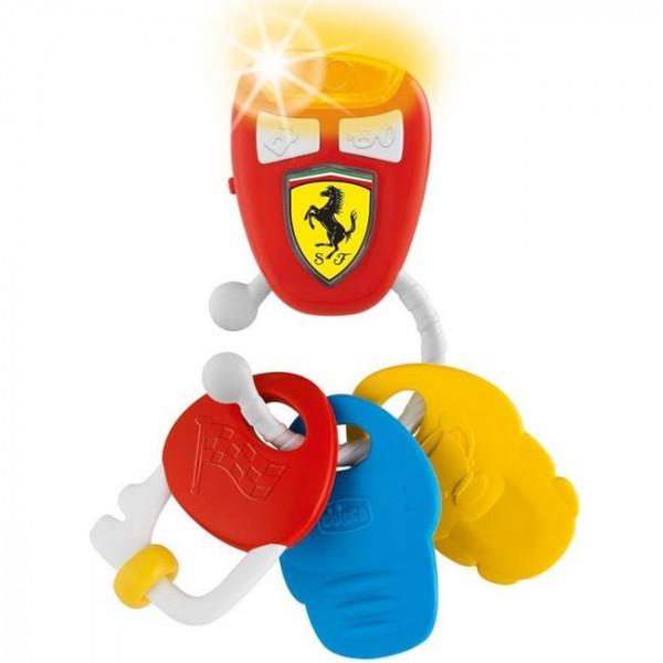 Chicco Κουδουνίστρα - μασητικό Chicco κλειδιά με ήχο Ferrari 09564