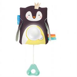 98426619562 Taf Toys Μουσικό παιχνίδι κούνιας Prince The Penguin Baby Shooter