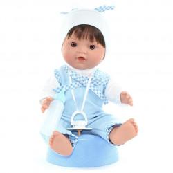 """Lamagik Magic Baby Κούκλα Baby Pipi 'Pyjamas Boy Blue"""""""