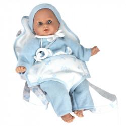 """Lamagik Magic Baby Κούκλα """"Lucas"""" με Μάρσιπο"""