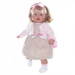 Lamagik Magic Baby Κούκλα Moflete 'Valentina Pink Girl'
