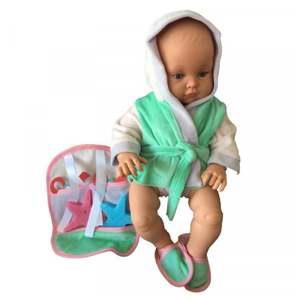 Lamagik Magic Baby Κούκλα Chencho με Μπουρνούζι και Αξεσουάρ Μπάνιου