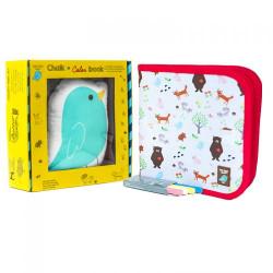 Jaq Jaq Bird: Σετ δώρου Βιβλίο ζωγραφικής και πουλάκι Jaq Jaq