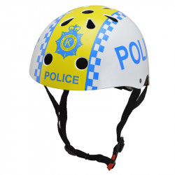 Kiddimoto Κράνος Metallic Police