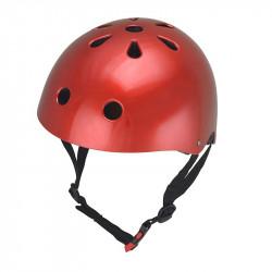 Kiddimoto Κράνος Metallic Red