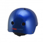 Kiddimoto Κράνος Metallic Blue