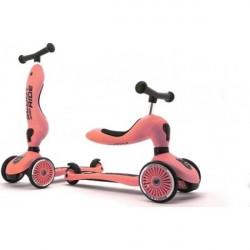 Scoot & Ride Ποδήλατο Ισορροπίας και Πατίνι 2 σε 1 Highwaykick 1 Peach 96353