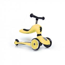 Scoot & Ride Ποδήλατο Ισορροπίας και Πατίνι 2 σε 1 Highwaykick 1 Lemon 96354