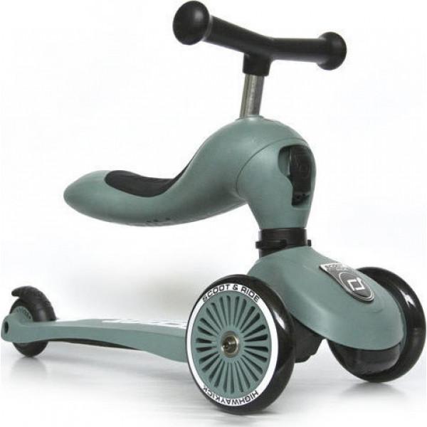 Scoot & Ride Ποδήλατο Ισορροπίας και Πατίνι 2 σε 1 Highwaykick 1 Forest 96269