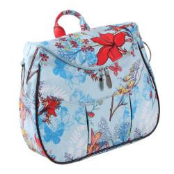 Minene Τσάντα Αλλαξιέρα Layla Light blue με Λουλούδια  9679