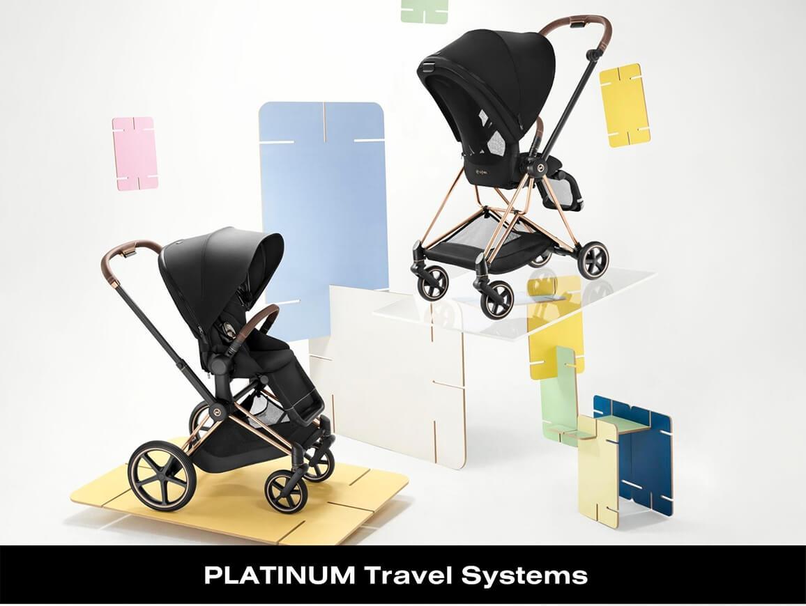 Cybex Platinum Travel Systems