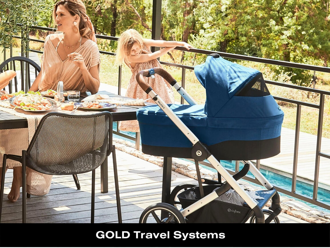 Cybex Gold Travel Systems