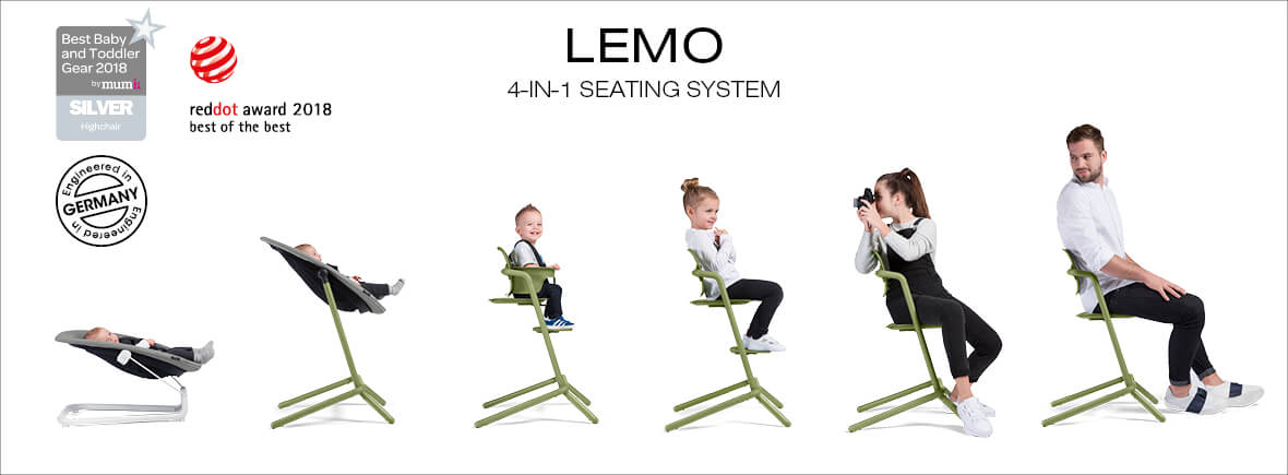 Cybex Lemo 4-1 Seating System
